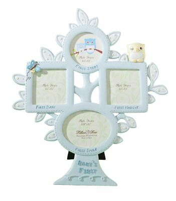 Owl 1st Year Picture Photo Frame Baby Showers Christening Gifts