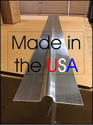"100 - 2' Aluminum Radiant Floor Heat Transfer Plates for 1/2"" PEX tubing"