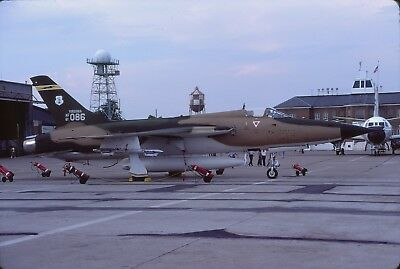 original slide  F-105D  61-0086  149 TFS CO / 192 TFG  Va-ANG  Aug 81