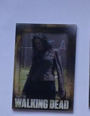 walking dead season 2 shadow box chase card by Cryptozoic