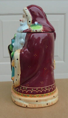 Santa Cookie Jar Made For Nonni's