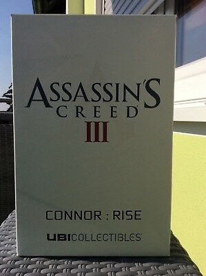 Assassin's Creed III Connor Rise Figur mit Flagge Ubisoft Collectibles neu OVP
