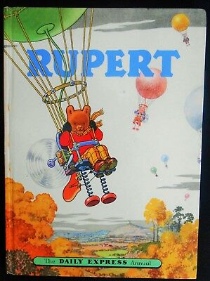 Vintage Original 1957 Rupert Bear Annual, Price Unclipped 4/6
