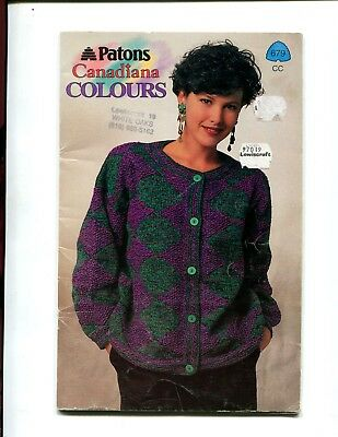 Vintage Beehive Patons Knitting Pattern Book 144 Carefree Arran