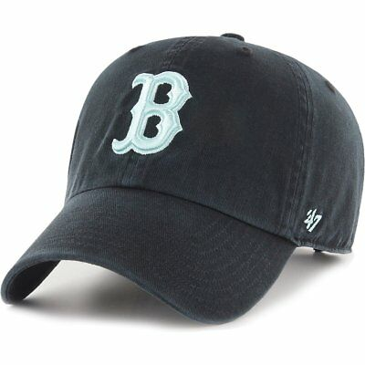 47 Brand Relaxed Fit Cap - CLEAN UP Boston Red Sox noir