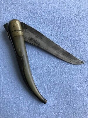 Antique, Navaja, Sword, Knife, Horn, Dagger, Lampur, Indian Thug Knife, Goondas
