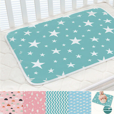 Waterproof Reusable Baby Infant Mat Breathable Nappy Cover Change Urine Pad New