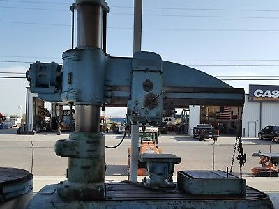 American Radial Drill Spindle MT5 Stroke 17""