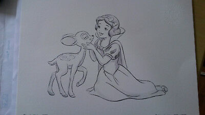 Reproduction Collector Disney Extra Blanche Neige