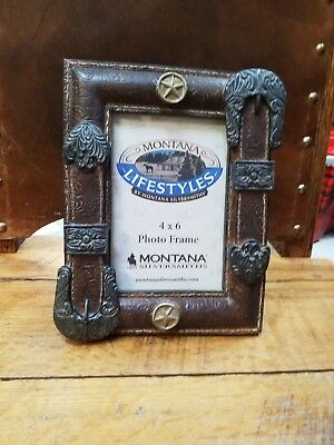 Montana Silversmiths 4X6 Picture Frame