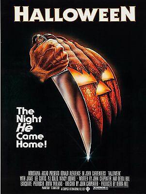 1978 Halloween Movie High Quality Metal Magnet 3 x 4 inches 9236