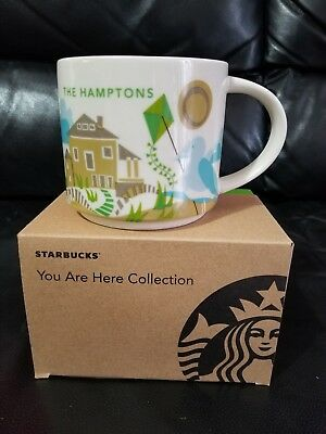 NEW WITH BOX Starbucks The Hamptons You Are Here Collection Mug Cup DISCONTINUED
