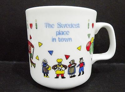 """Australian Fine China Mug - Miss Maud W.A. - """"The Swedest place in town"""""""