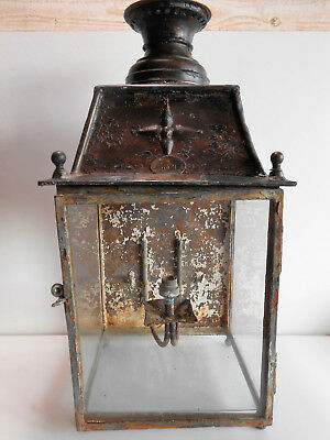 Lanterne Chemin De Fer Du Midi Albi / Train / Antique Railroad Lantern