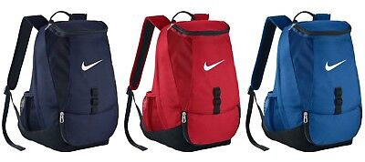 09a90345c NIKE SOCCER CLUB Team Swoosh Backpack Blue/Navy/Red New - $39.97 ...