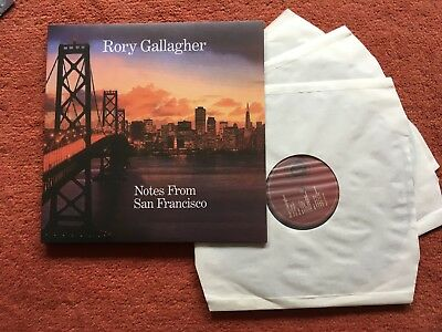 RORY GALLAGHER – NOTES FROM SAN FRANCISCO  –  3  LP s  Vinyl 180g Music on Vinyl
