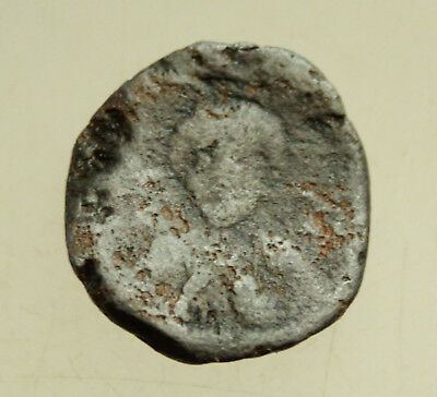 Ancient Byzantine Lead Seal D=20mm 6g