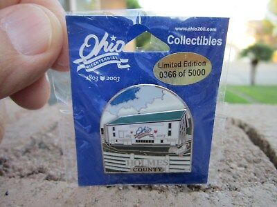 Collectible Ohio Bicentennial Barn Pins 2003 Holmes County
