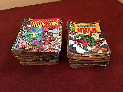Mighty World Of Marvel Job Lot Over 150 Copies