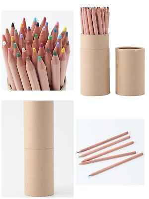 MUJI 36 Color Pencil Natural Wood Made in JAPAN moma FROM JAPAN
