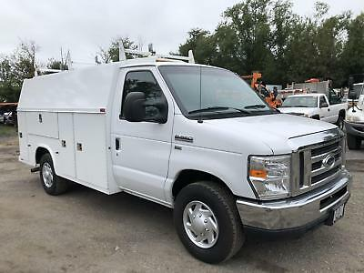 2013 Ford Econoline Commercial Cutaway Enclosed Utility E-350 Service Van