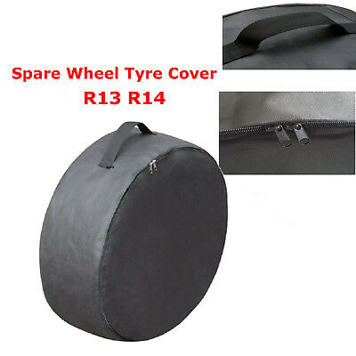 Spare Cover Tyre Wheel Storage Bag For Car or Caravan Wheel Size R13 R14