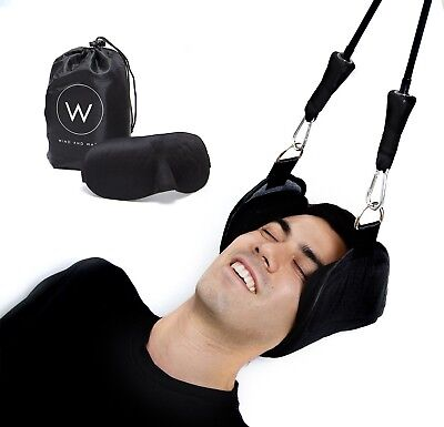 Head Hammock to Relieve Neck Pain - A Relaxing & Easy Cervical Traction Solution