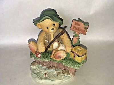 Cherished Teddies ~ Patience is a Fisherman's Virtue ~ Norm - Figurine #476765