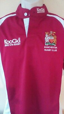 Manchester rugby club shirt, S adults