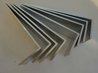 "2"" X 6"" Aluminum Angle 1/8"" Thick 1 1/2"" In Length (8 Pieces)"