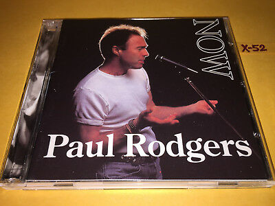 PAUL RODGERS (of Queen Bad company Free The firm) NOW & LIVE cd