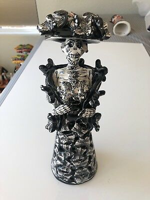 "Talavera Catrina Day Of The dead Frida 12"" Tall"