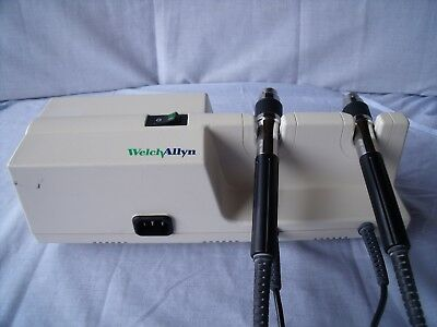 Welch Allyn 767Series Grey Otoscope/Ophthalmoscope Wall Transformer No Heads! L5