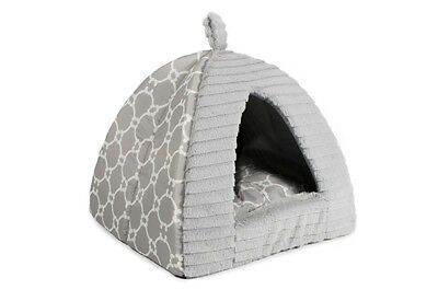 Ancol Pet Puppy Dog Cat Kitten Indoor Soft Plush Luxury Pyramid House Bed 554700
