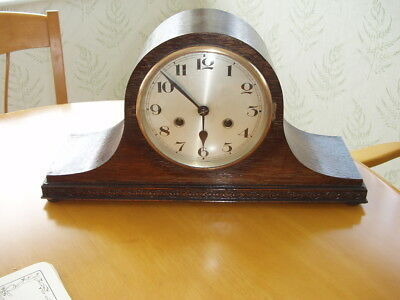 Oak Napoleon Hat Clock