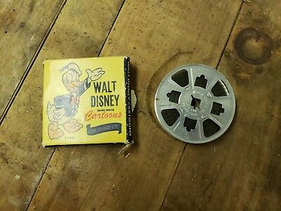 Walt Disney Cartoons 8mm Home Movie 1535-A The Mystic Castle