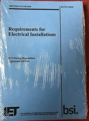 IET Wiring Regulations 18th Edition