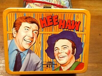 VINTAGE METAL 1970's  HEE HAW LUNCH BOX-NO RESERVE