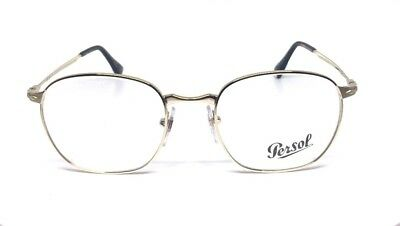 New Mens PERSOL 2450-V 1076 Gold Genuine Eyeglasses Frame 52-20-145