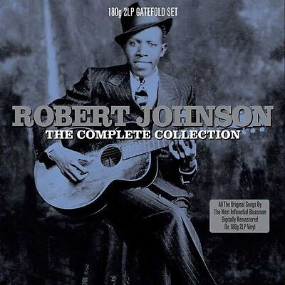 Robert Johnson - The Complete Collection 180 gram 2 x LP - Blues Vinyl Album NEW
