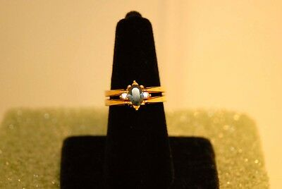 Now-You-See-It... Convertible Rhinestone Ring Size 8