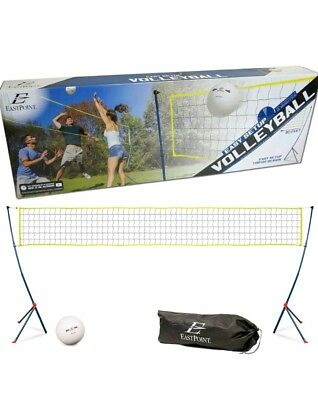 Portable Tripod Volleyball Net Set Easy Setup Outdoor Sports Camping EastPoint