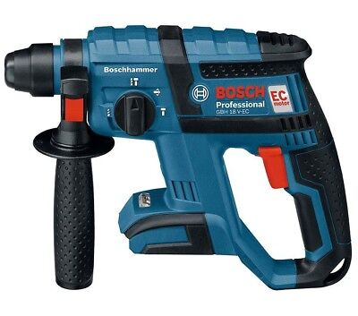 Bosch GBH 18 V-EC Professional SDS-Plus Brushless Rotary Hammer - Skin Only