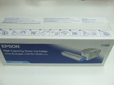 Genuine Epson AL C2600/2600 High Capacity CYAN Toner *NEW*
