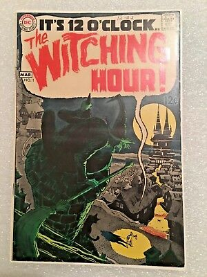 The Witching Hour #1 Dc 1St Issue! See All My Books! Silver Age! Worldwide Post!