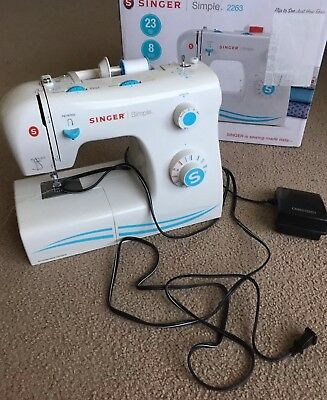SINGER SIMPLE 40 40Stitch Sewing Machine White 4040 PicClick Awesome Singer Zigzag Sewing Machine 2263