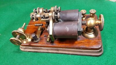 Beautiful vintage Fire Alarm Telegraph Instrument - Relay