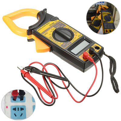 Digital Clamp Multimeter Amp Meter AC/DC Current Voltage Volt Tester Probe Tool