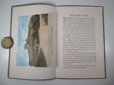 1910+/- Old Fort Inn - Kennebunkport Maine Booklet w/ Photos