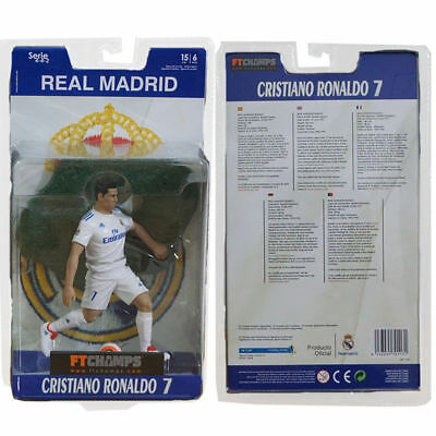 Soccer Football Real Madrid Cristiano Ronaldo #7 PVC Collectible Action Figure